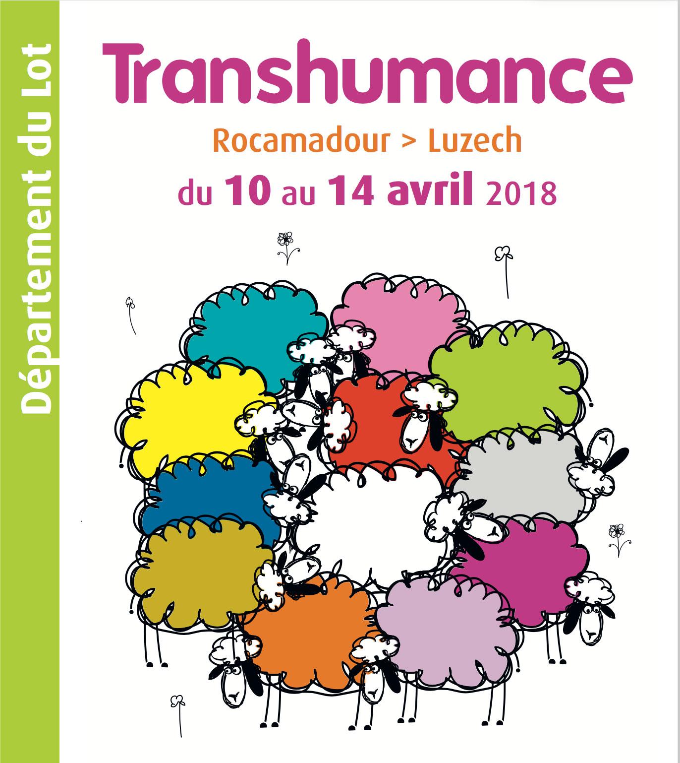 TRANSHUMANCE 2018 - 10 au 14 AVRIL 2018