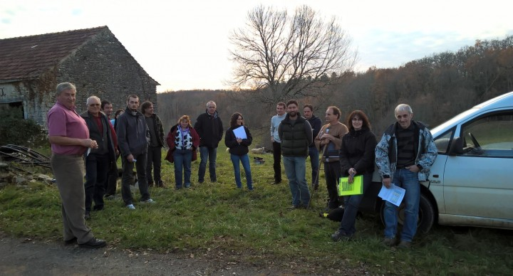 Réunion de travail des éleveurs de transhumance en Quercy